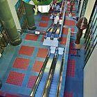 Escalators... by Stephen Burke