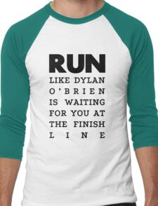 RUN - Dylan O'Brien  Men's Baseball ¾ T-Shirt
