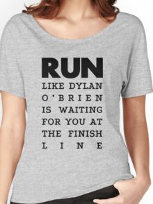 RUN - Dylan O'Brien  Women's Relaxed Fit T-Shirt