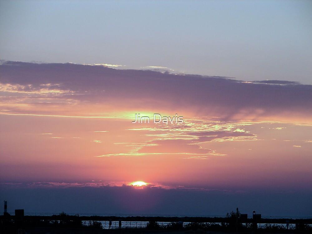 Lake Michigan Sunset by Jim Davis
