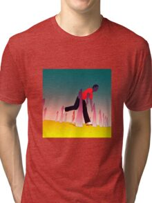 While I'm Here Tri-blend T-Shirt