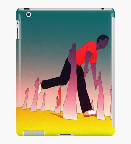While I'm Here iPad Case/Skin