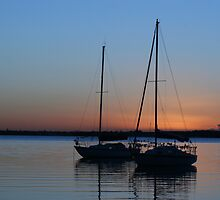 Sunrise over Lake Macquarie by minniemanx