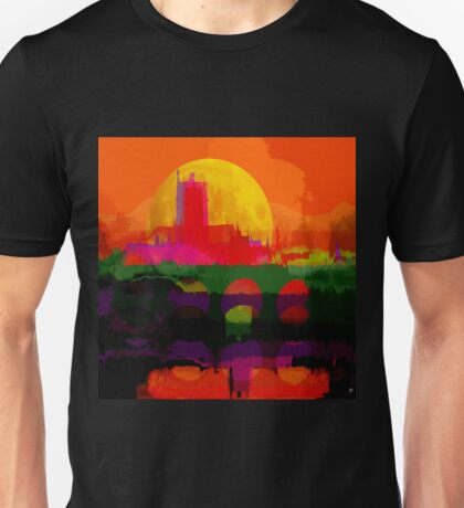 WORCESTER CATHEDRAL and BRIDGE Unisex T-Shirt