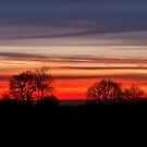 Ingleton Sunset by Sue Knowles