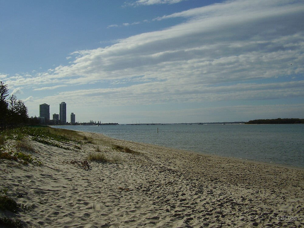 Gold Coast Broad Water, Queensland, Australia (August, 2007) by Cactus