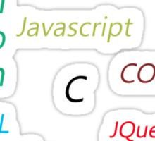 Programming Languages Sticker