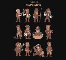 Types of captains Kids Clothes