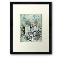 little explorers Framed Print