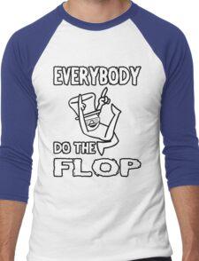 Do the FLOP! Men's Baseball ¾ T-Shirt