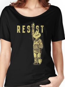 "Smokey Says ""Resist"" Then it must be True! Women's Relaxed Fit T-Shirt"