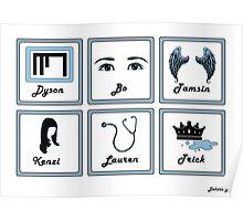 LOST GIRL ICON DESIGN Poster