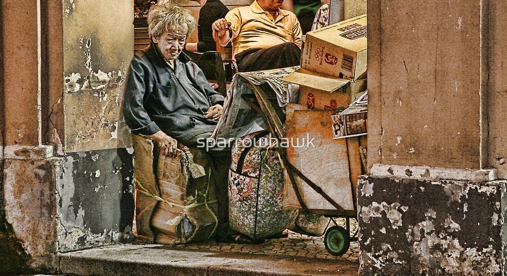 Macau - Street Vendor by sparrowhawk