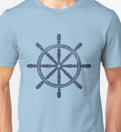 Nautical Wheel Unisex T-Shirt