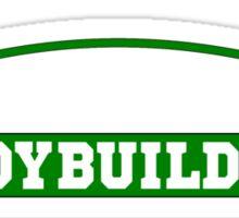 bodybuilder, bodybuilding, fitness, workout, beast, power muscle, train Sticker