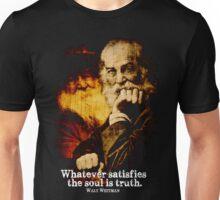 Walt Whitman American Poet Unisex T-Shirt
