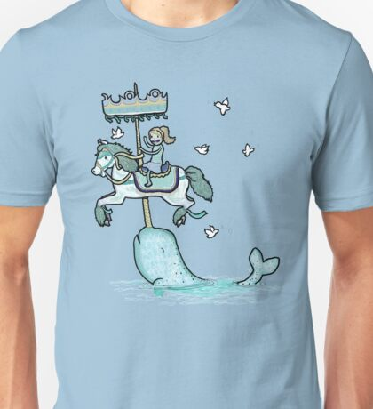Narwhal Carousel Unisex T-Shirt