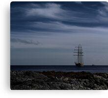 Tall Ship Bangor Bay Canvas Print
