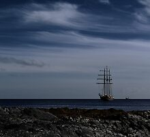 Tall Ship Bangor Bay Photographic Print