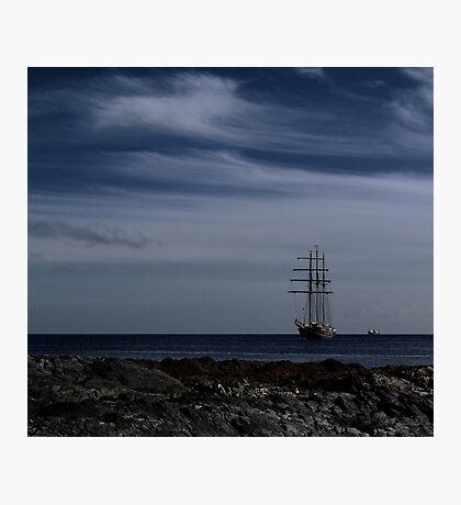 Tall Ship Bangor Bay Photographic Print