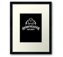 Inspired by GTA V - Merryweather Security Framed Print