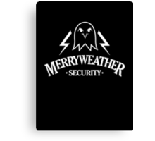 Inspired by GTA V - Merryweather Security Canvas Print