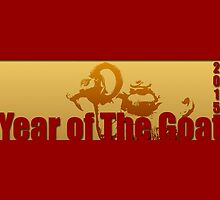 Golden Goats #4 - Year of The Goat 2015 - by PBdesigns