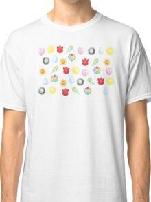 Pokemon Kanto Badges Classic T-Shirt