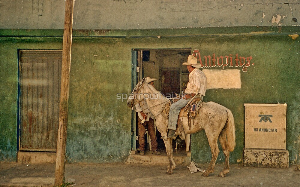 The Cowboy - Mexico by sparrowhawk