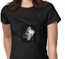 Paper White Narcissus, Dreaming of Butterflies Womens Fitted T-Shirt