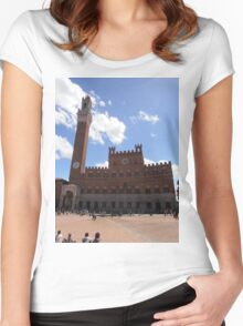 Siena - Tuscany - Italy Women's Fitted Scoop T-Shirt