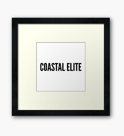 Coastal Elite Framed Print