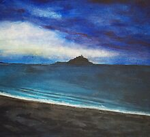 Cornish Sunset by Jonathan Kereve-Clarke (Coventry Artist)
