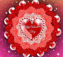 Valentine Rosette by Make-It-Mico