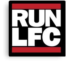 RUN-LFC Canvas Print