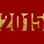 Golden Goats #8 - Year of The Goat 2015 - by PBdesigns
