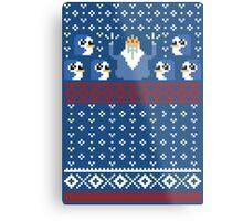 Christmas Time - Ugly Christmas Sweater Metal Print