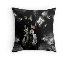 The Devils Bass Throw Pillow