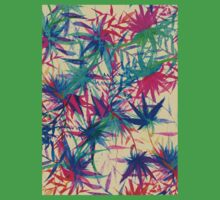 Tropical Jungle - a watercolor painting Kids Clothes
