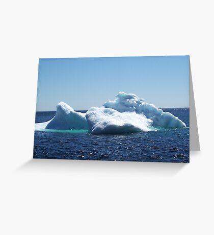 Iceberg...on close up Greeting Card