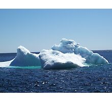 Iceberg...on close up Photographic Print