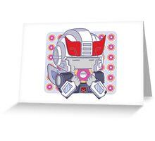 ROBOTS.DONUTS Greeting Card