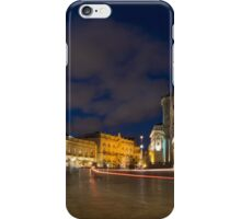 Car Trails on the Elegant Duomo Square in Ortygia, Syracuse, Sicily, Italy iPhone Case/Skin