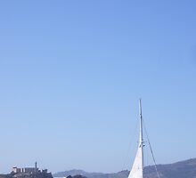 The Catamaran and The Prison of Alcatraz by Alfredo Juarez