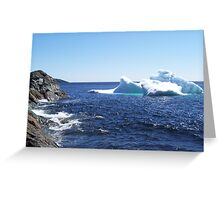 Iceberg...at the beach Greeting Card