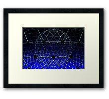 The Rise In Blue Framed Print