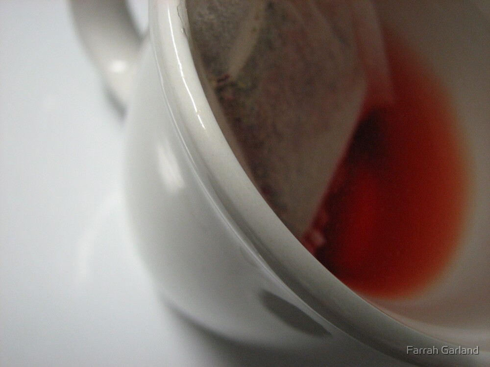 Tea cup detail by Farrah Garland