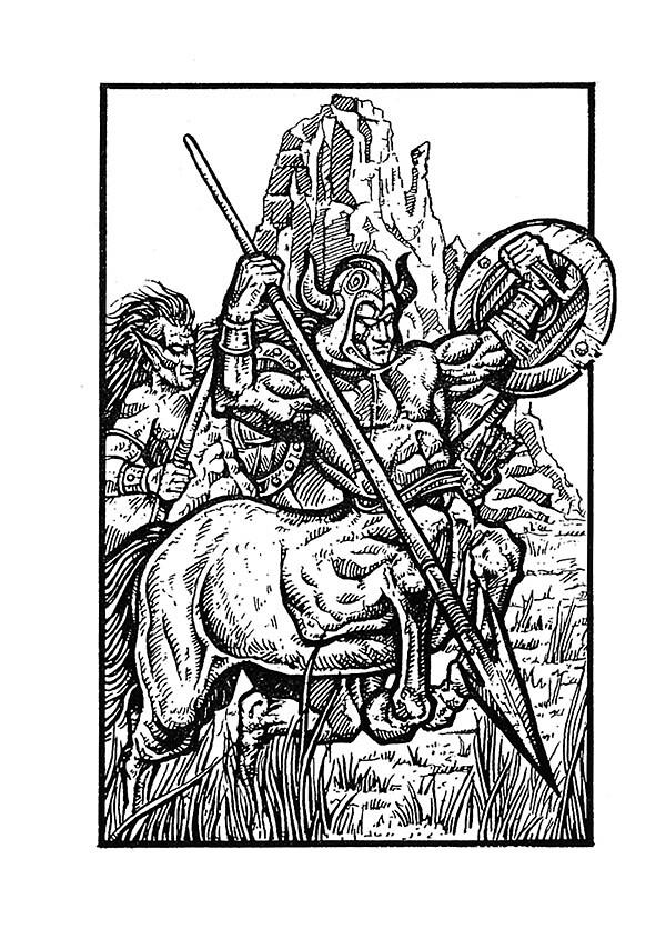 Centaurs by Edward Crosby