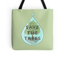 Save the trees (text version) Tote Bag