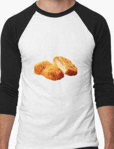 Chicken nugget Men's Baseball ¾ T-Shirt
